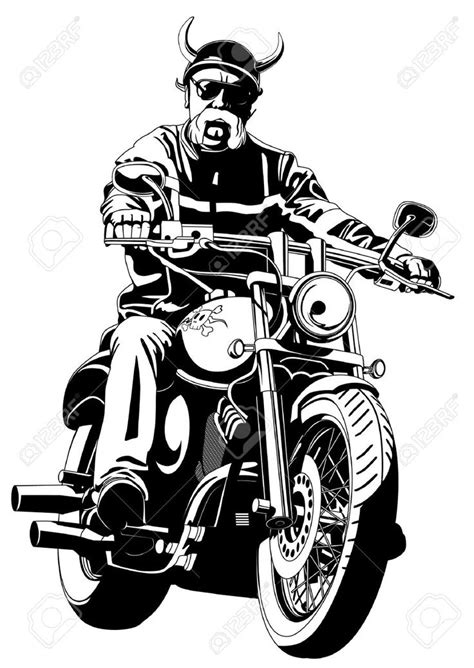 Harley Davidson Drawing Outline at GetDrawings.com