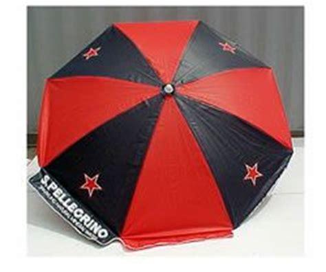 san pellegrino backyards and umbrellas on