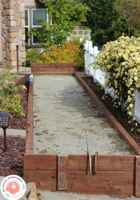 how to build a bocce court diy bocce ball court diy www pixshark com images galleries with a bite