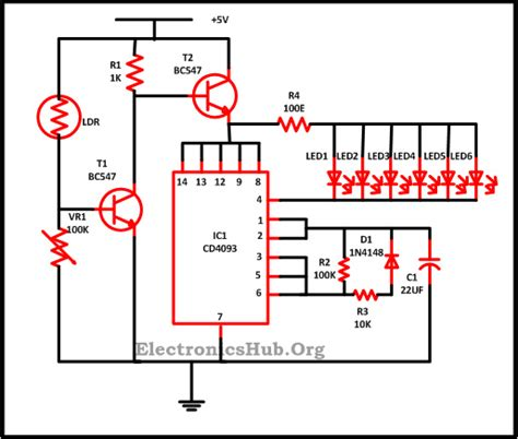 how do 3 wire christmas lights work led christmas lights circuit diagram and working