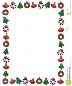 Free Christmas Ornament Border