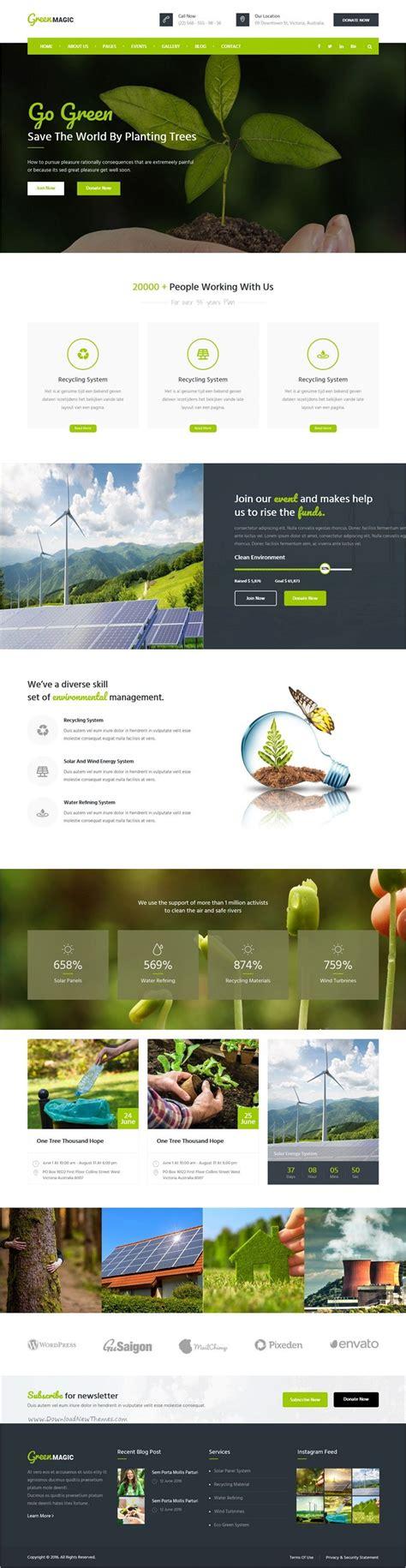 Desarrollo Web Templat by Green Magic Environment Non Profit Html Template
