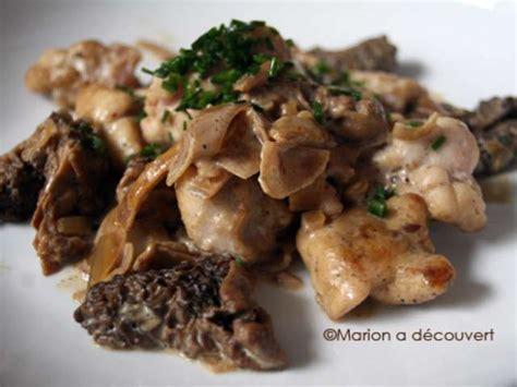 cuisiner des morilles recettes de ris de veau et veau 6