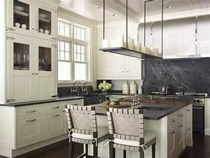 Soapstone KItchen Island - Contemporary - kitchen