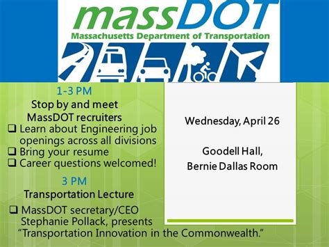 Bring Resume To In Folder by Massdot Careers And Resume Drop College Of Engineering Umass Amherst