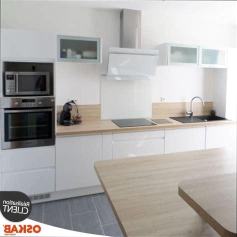 cuisine blanche bois cuisine blanche bois tabouret de cuisine