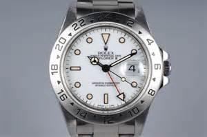 1995 Rolex Explorer II 16570 White Dial