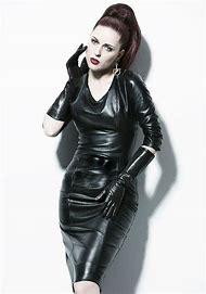 Women Wearing Leather Dress Gloves