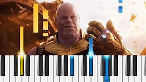 Marvel U0026 39 S Avengers  Infinity War - Official Trailer - Easy Piano Tutorial Chords