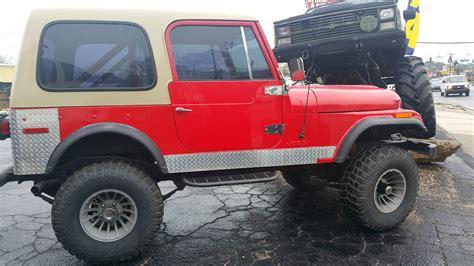 cj jeep wrangler 1979 jeep wrangler cj5 4wd lifted for sale in jacksonville