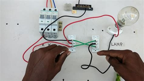 two way switch connection type 4 in tamil two way switch wiring diagram