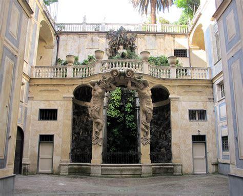 Il Cortile Genova by File Palazzo Nicolosio Lomellini Cortile 01 Jpg