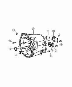 Chrysler Crossfire Bearing  Countershaft   72mm