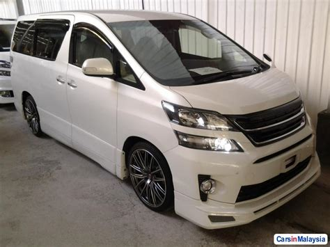 Toyota Vellfire Picture by Toyota Vellfire 2 4 Zg For Sale Carsinmalaysia 7524