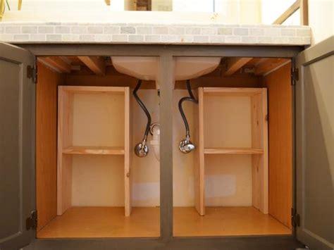 step  step guide  creating storage   sink diy