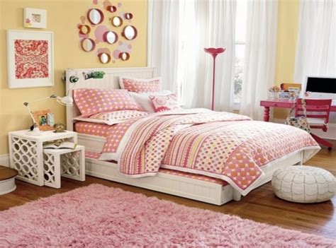 Trundle Beds with Trundle Teenage Girls Bedroom Design   Trundle Beds Space Saving Solution