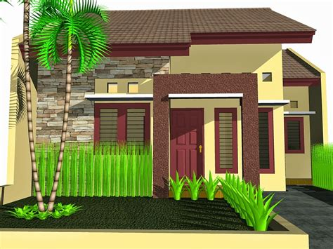 contoh desain rumah mungil minimalis blog koleksi desain