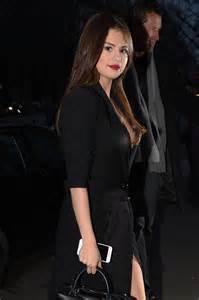 Selena Gomez in Black Dress -49 - GotCeleb