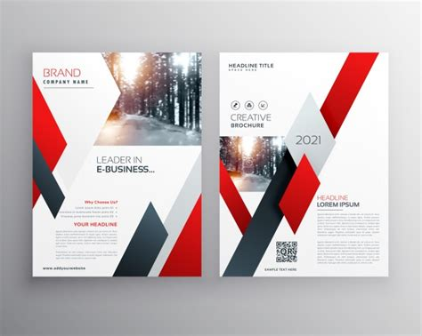 Free Business Flyer Templates by Business Flyer Template Vector Premium