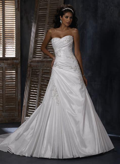 21 gorgeous a line wedding ideas the wow style