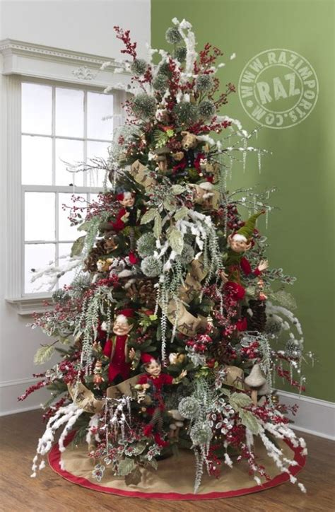 raz  forest friends decorated christmas trees  list