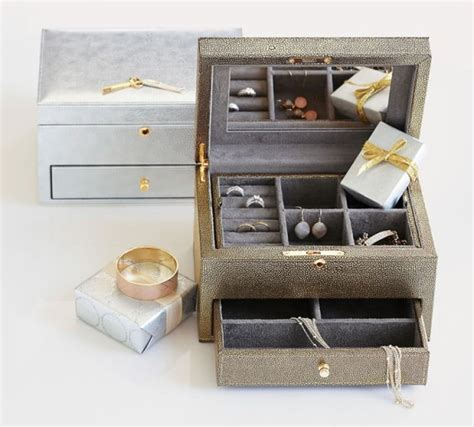 pottery barn jewelry box pottery barn jewelry box 20 and free shipping