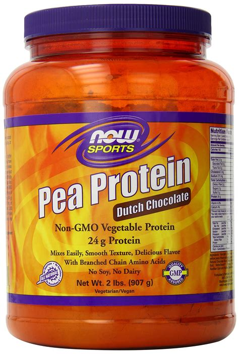Amazon.com: NOW Sports Pea Protein Powder,2-Pound: Health