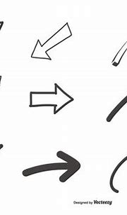 Hand Drawn Arrows Collection - Download Free Vectors ...