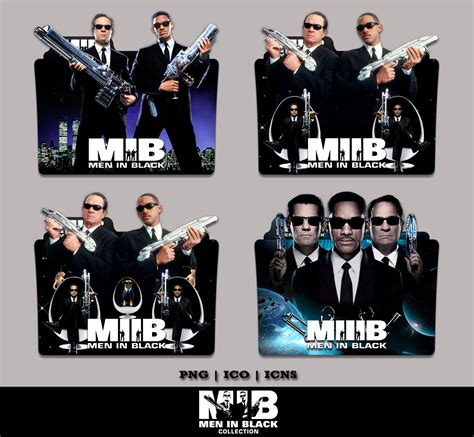 Men In Black Movie Collection Folder Icon Pack By