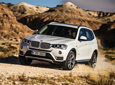 Bmw X3 2014 by 2014 Bmw X3 Facelift Debuts Updated 140kw 20d Engine