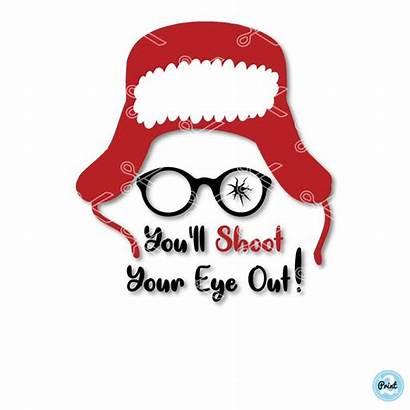 Svg Story Shoot Eye Ll Glasses Ralphie