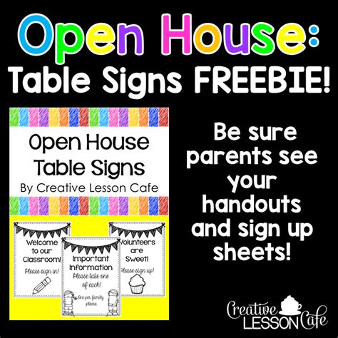 Creative Lesson Cafe Open House Ideas For Teachers. Coping Skills Signs Of Stroke. Tape Signs Of Stroke. Green Bay Packers Signs. Sudden Signs. Utility Room Signs. Artistic Signs. Born Signs. Hobby Signs