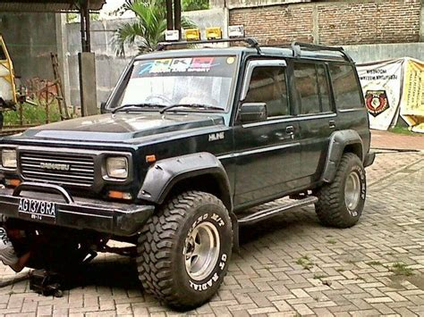 jeep indonesia the daihatsu taft hiline in indonesia cool car 4x4s and