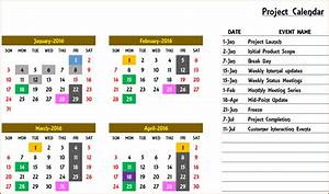 excel calendar template excel calendar 2018 2019 or any With annual calendar of events template