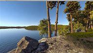 Forest Lake Scene