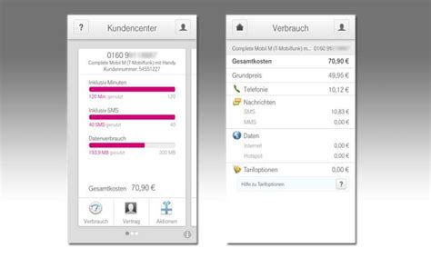 mobiles klimagerät test kundencenter t mobile app im test connect