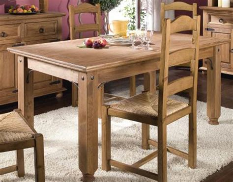 table en bois de a vendre salle 224 manger rustique conforama