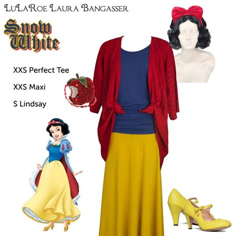 U0026quot;LuLaRoe DisneyBounding Snow Whiteu0026quot; Snow White inspired Halloween costume by ...