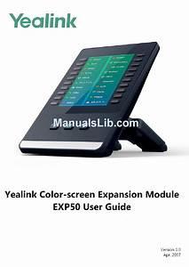 Yealink Exp50 User Manual Pdf Download