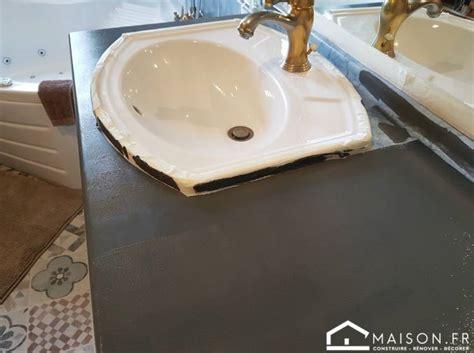 recouvrir du marbre repeindre le carrelage au sol dune renovation plan de travail carrel simple simple