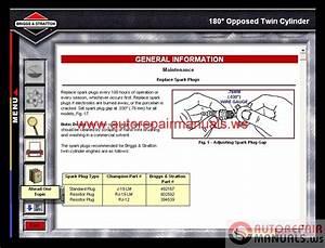 Briggs  U0026 Stratton Interactive Repair Manuals Cd