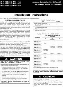 Carrier 52meau09301aa User Manual Package Unit Manuals And