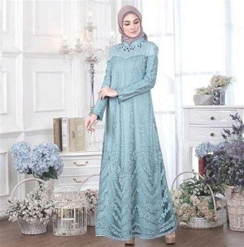 model baju dress bahan brokat desain model baju   model pakaian model pakaian hijab
