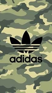 adidas Logo Camouflage Pattern iPhone Wallpaper | Nike ...