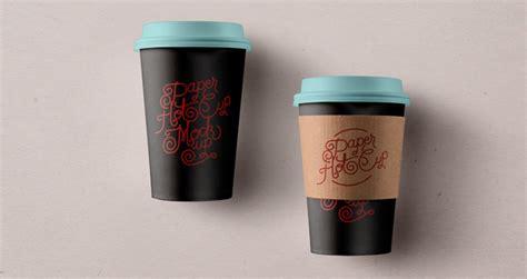 psd paper hot cup template vol psd mock  templates