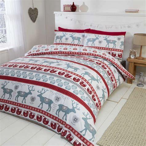 100% Brushed Cotton Flannelette Bedding Quilt Duvet Cover