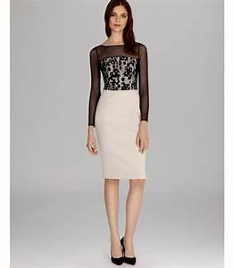 Miller Jeans Size Chart Lyst Millen Dress Camouflage Lace In Black