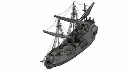Ship Pirate 3d Pearl Max Obj Cgtrader