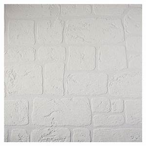 Papier Peint Pierre Blanche : papier peint fausse pierre fashion designs ~ Dailycaller-alerts.com Idées de Décoration