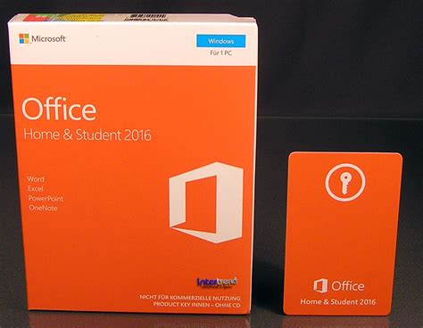 Office Home Student 2016 For Pc by Microsoft Office Home And Student 2016 Vollversion Box 1